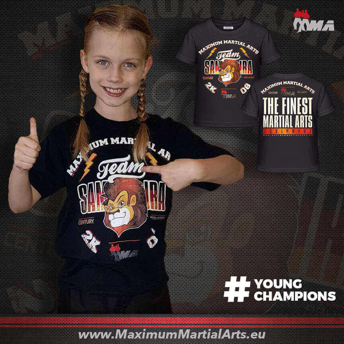 Support Samira Kindermann - YoungChampion