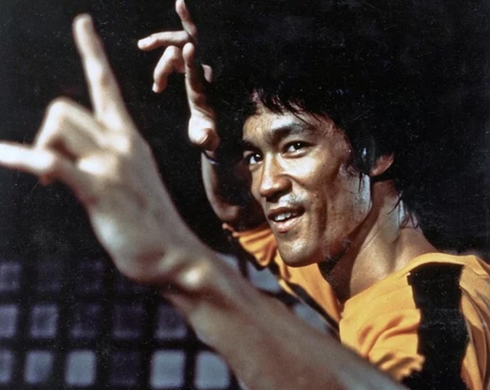 Ich erinnere mich an Bruce Lee