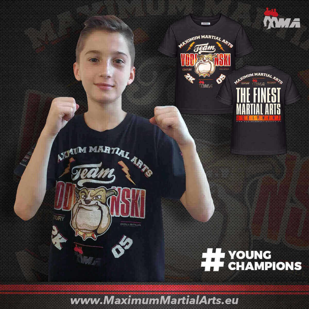 Support Christian Vodenski - YoungChampion