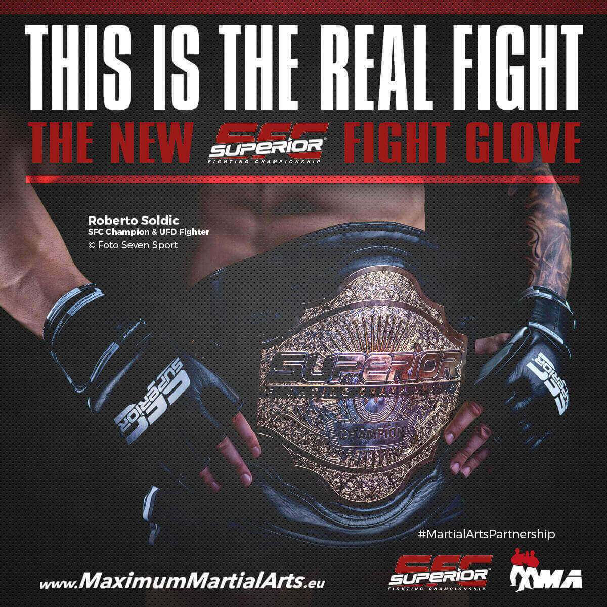 THE NEW OFFICIAL SFC FIGHT GLOVE